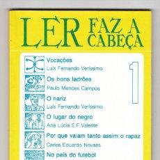 Libros de segunda mano: LER FAZ A CABEÇA TEXTOS BRASILEIROS E.P.U. 5 EJEMPLARES. Lote 193803076