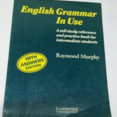 Libros de segunda mano: ENGLISH GRAMMAR IN USE. Lote 194206478