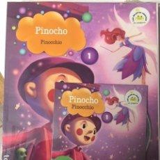 Libros de segunda mano: PINOCHO VAUGHAN. Nº 1. EDICIÓN BILINGÜE ESPAÑOL-INGLES, CON CD. BIBLIOTECA INFANTIL EL MUNDO. Lote 194263953