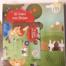Libros de segunda mano: EL GATO CON BOTAS. Nº 3. VAUGHAN. EDICIÓN BILINGÜE ESPAÑOL-INGLES, CON CD.. Lote 194264440