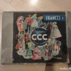 Libros de segunda mano: CURSO FRANCÉS I CCC AÑOS 1950. Lote 194529636