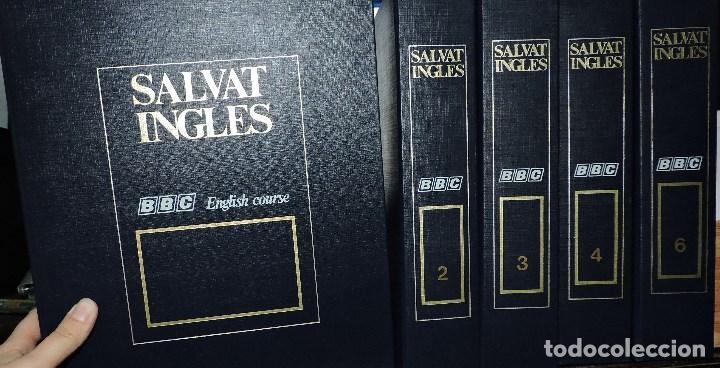 SALVAT INGLÉS BBC ENGLISH COURSE TOMOS 1, 2, 3, 4 Y 6. (Libros de Segunda Mano - Cursos de Idiomas)