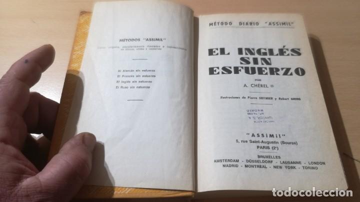 Libros de segunda mano: EL INGLES SIN ESFUERZO - ASSIMIL - A CHEREL / H302 - Foto 3 - 194780623