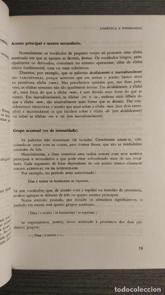 Libros de segunda mano: Nova gramatica do português contemporâneo Celso Cunha, Lindley Cintra Ediçôes Joâo Sâ Costa - Foto 2 - 194895607