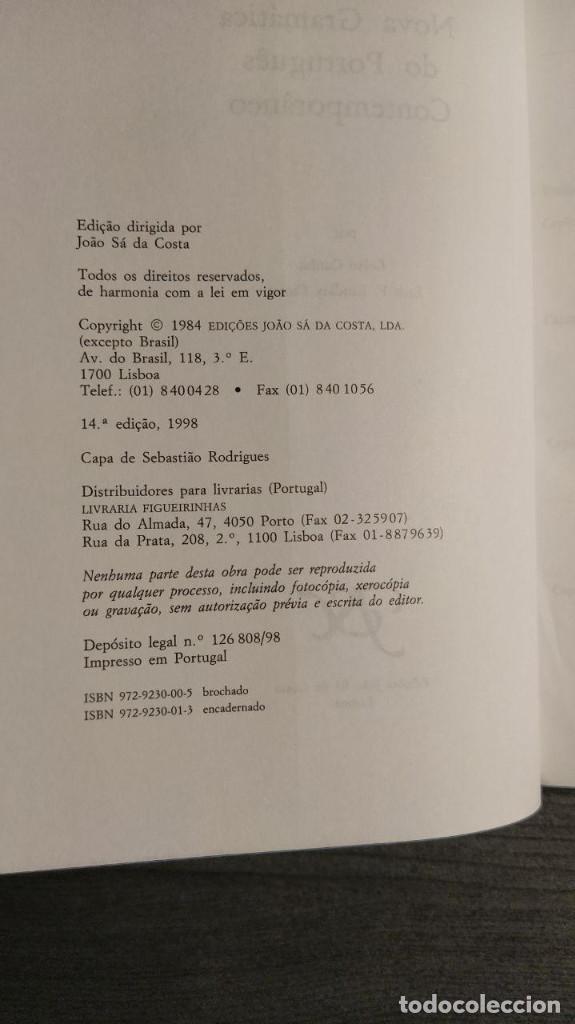 Libros de segunda mano: Nova gramatica do português contemporâneo Celso Cunha, Lindley Cintra Ediçôes Joâo Sâ Costa - Foto 7 - 194895607