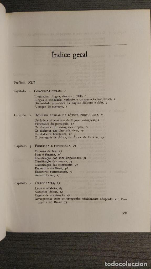 Libros de segunda mano: Nova gramatica do português contemporâneo Celso Cunha, Lindley Cintra Ediçôes Joâo Sâ Costa - Foto 8 - 194895607