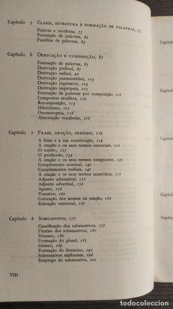Libros de segunda mano: Nova gramatica do português contemporâneo Celso Cunha, Lindley Cintra Ediçôes Joâo Sâ Costa - Foto 9 - 194895607