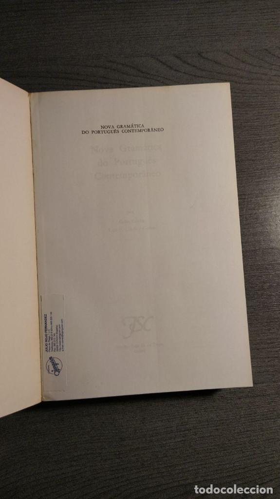 Libros de segunda mano: Nova gramatica do português contemporâneo Celso Cunha, Lindley Cintra Ediçôes Joâo Sâ Costa - Foto 10 - 194895607