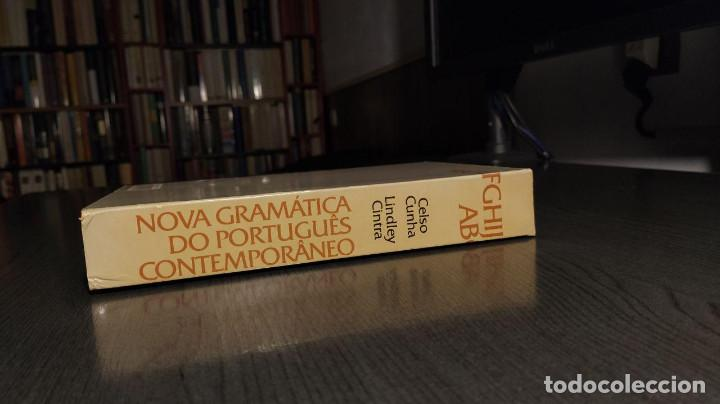 Libros de segunda mano: Nova gramatica do português contemporâneo Celso Cunha, Lindley Cintra Ediçôes Joâo Sâ Costa - Foto 15 - 194895607