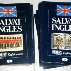 Libros de segunda mano: CURSO DE IDIOMA INGLÉS EN 96 FASCÍCULOS (BBC ENGLISH COURSE) DE ED. SALVAT EN BARCELONA 1977. Lote 195005285