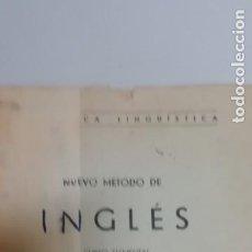 Libros de segunda mano: NUEVO MÉTODO DE INGLÉS. Lote 195021015