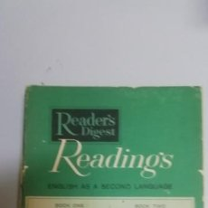 Libros de segunda mano: READER'S DIGEST, READINGS, ENGLISH AS A SECOND LANGUAGE. Lote 195027807