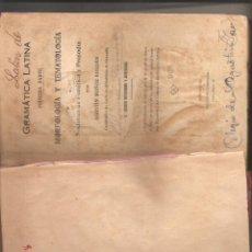 Libros de segunda mano: 1217. GRAMATICA LATINA. AGUSTIN MUÑOZ ROLDAN. Lote 195118610
