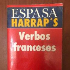 Libros de segunda mano: VERBOS FRANCESES - ESPASA HARRAP'S. Lote 195155132