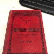 Libros de segunda mano: MÉTODO DE INGLÉS. Lote 195678262