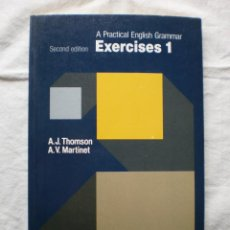 Libros de segunda mano: PRACTICAL ENGLISH GRAMMAR. EXERCISES 1. Lote 196266583