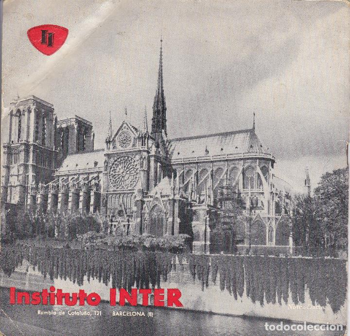 Libros de segunda mano: CURSO DE FRANCES, 1963, INSTITUTO INTER, 18 FASCICULOS, CURSO INCOMPLETO FALTAN 1 Y 2 - Foto 2 - 196725043