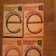 Livros em segunda mão: ESSENTIAL ENGLISH I , 2, 3, 4. FOR FOREING STUDENTS. Lote 196793043