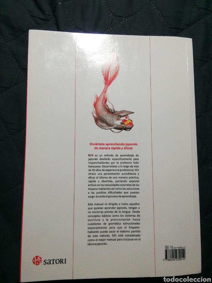 Libros de segunda mano: KOI MANUAL BÁSICO DE JAPONÉS. SATORI - Foto 2 - 198073453