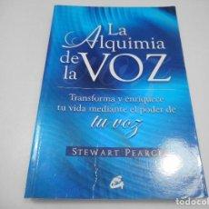Livros em segunda mão: STEWART PEARCE LA ALQUIMIA DE LA VOZ Y99658W . Lote 198128275