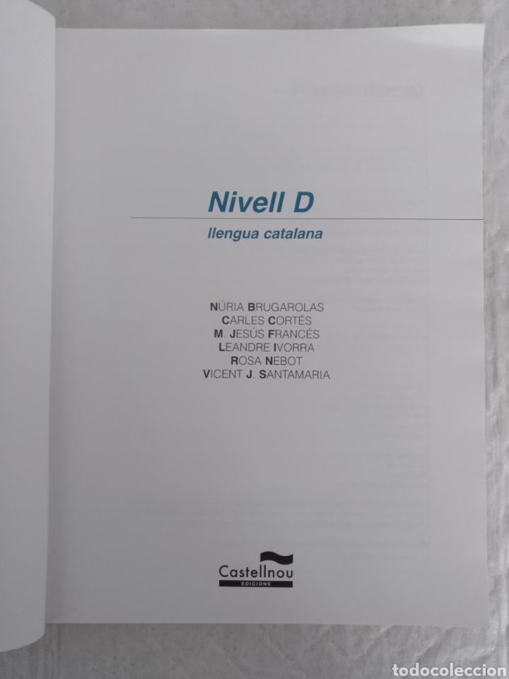 Libros de segunda mano: Curs de llengua catalana nivell D. Castellnou edicions. Libro - Foto 2 - 198513406