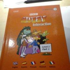 Libros de segunda mano: CURSO INGLES BBC MUZZY INTERACTIVE.28 LIBROS-CDROM-DVD+ 1 CANCIONES. Lote 198546860