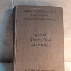 Libros de segunda mano: LIBRO GRAMÁTICA ALEMANA AÑO 1938. Lote 198951007