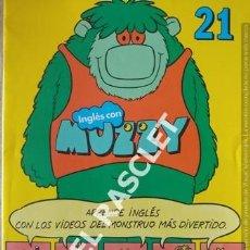 Libros de segunda mano: INGLÉS CON MUZZY Nº 21 CUADERNO PARA APRENDER INGLÉS. Lote 199755173