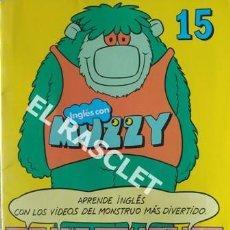 Libros de segunda mano: INGLÉS CON MUZZY Nº 15 CUADERNO PARA APRENDER INGLÉS. Lote 199755256