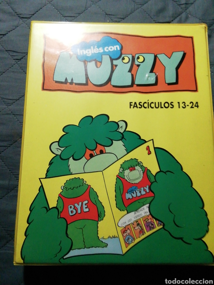 Libros de segunda mano: COLECCIÓN COMPLETA 24 FASCÍCULOS. INGLÉS CON MUZZY. AÑOS 80-90 EGB - Foto 9 - 199863800