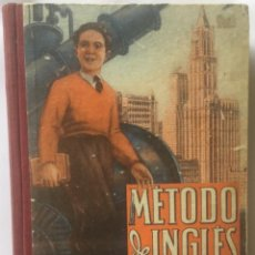 Libros de segunda mano: METODO DE INGLES. TERCER GRADO. EDELVIVES, 1945. Lote 200197482