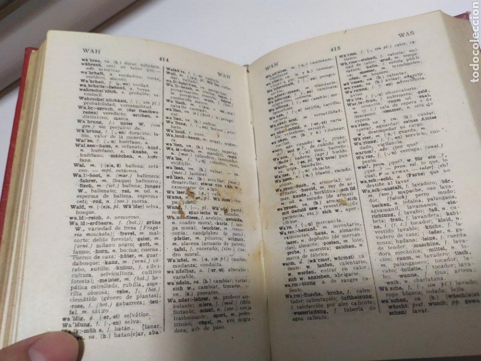 Libros de segunda mano: DICCIONARIO ALEMAN - ESPAÑOL . CUYAS DE EDIT. HYMSA, BARCELONA, 1941 . - Foto 11 - 200763767