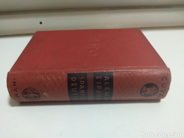 Libros de segunda mano: DICCIONARIO ALEMAN - ESPAÑOL . CUYAS DE EDIT. HYMSA, BARCELONA, 1941 . - Foto 16 - 200763767