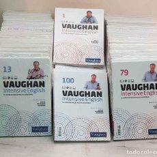 Libros de segunda mano: VAUGHAN INTENSIVE ENGLISH (100 LIBROS, Nº 1 A 100 / COMPLETO). Lote 201277606