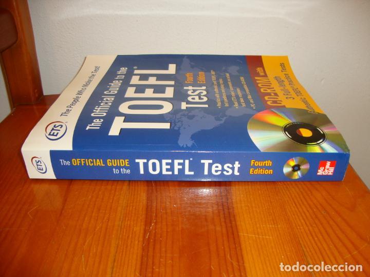 Libros de segunda mano: THE OFFICIAL GUIDE TO THE TOEFL TEST. FOURTH EDITION. INCLUYE CD, MUY BUEN ESTADO - Foto 2 - 201705991