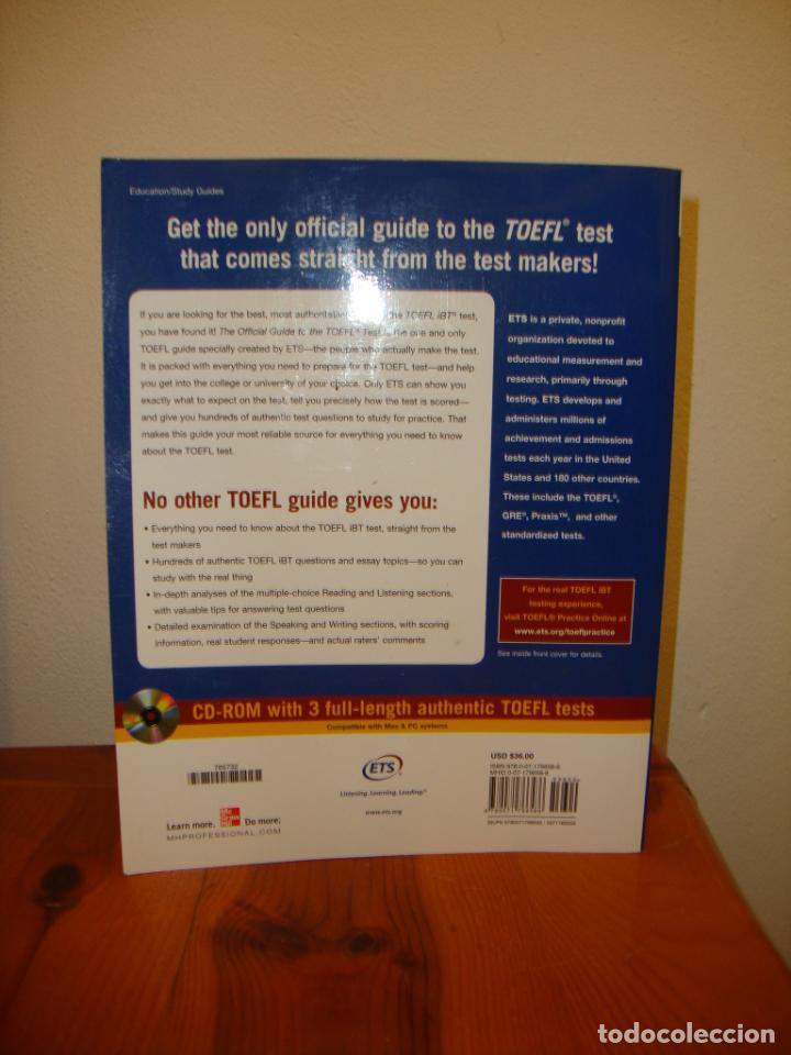 Libros de segunda mano: THE OFFICIAL GUIDE TO THE TOEFL TEST. FOURTH EDITION. INCLUYE CD, MUY BUEN ESTADO - Foto 3 - 201705991
