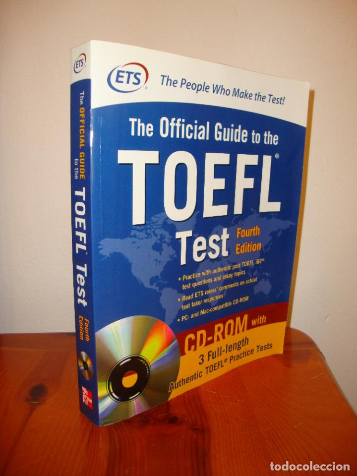 THE OFFICIAL GUIDE TO THE TOEFL TEST. FOURTH EDITION. INCLUYE CD, MUY BUEN ESTADO (Libros de Segunda Mano - Cursos de Idiomas)