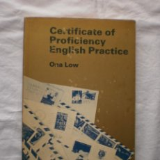 Libros de segunda mano: CERTIFICATE OF PROFICIENCY ENGLISH PRACTICE. Lote 203919192
