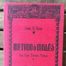 Libros de segunda mano: METODO DE INGLES GIRAU. Lote 205447197