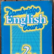 Libros de segunda mano: THE CAMBRIDGE ENGLISH COURSE. Lote 206230192
