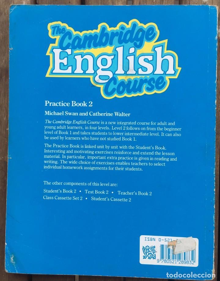 Libros de segunda mano: THE CAMBRIDGE ENGLISH COURSE - Foto 2 - 206230192