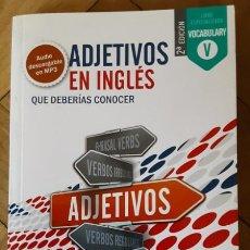 Libros de segunda mano: ADJETIVOS EN INGLÉS - METODO VAUGHAN. Lote 206770598