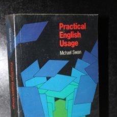 Libros de segunda mano: PRACTICAL ENGLISH USAGE.. Lote 205291421