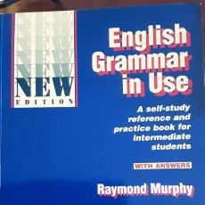 Libros de segunda mano: ENGLISH GRAMMAR IN USE - RAYMOND MURPHY - CAMBRIDGE - 1994 SIN ESTRENAR!!. Lote 207007165
