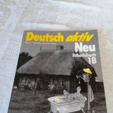 Libros de segunda mano: DEUTSCH AKTIV. NEU ARBEITSBUCH 1B. 1988. PREVIO CAÍDA DEL MURO. CURIOSO.. Lote 207169987