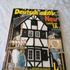 Libros de segunda mano: DEUTSCH AKTIV. NEU LEHRBUCH 1A. 1986. PREVIO CAÍDA DEL MURO. CURIOSO.. Lote 207277687