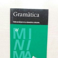Libros de segunda mano: GRAMÀTICA CATALANA. CASTELLNOU EDICIONS I EL PERIÓDICO, 1998. CATALÁN.. Lote 207286337