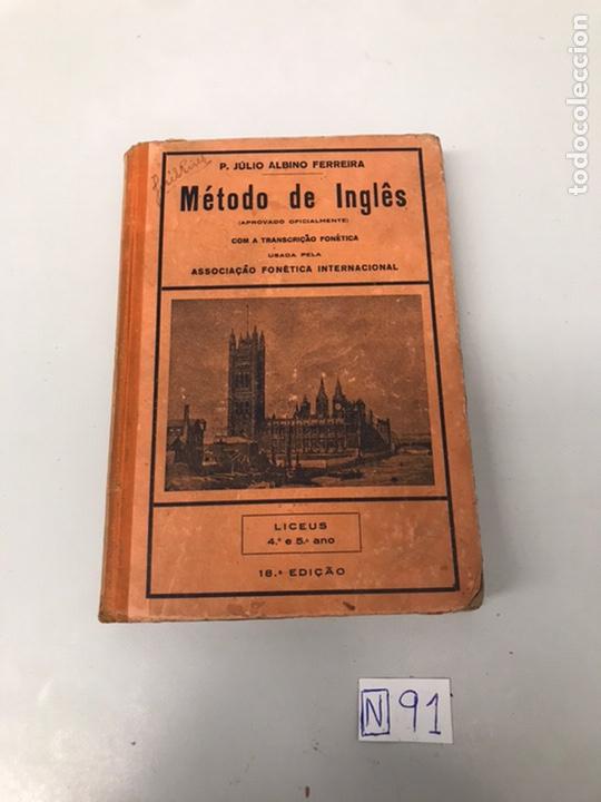 MÉTODO DE INGLÉS (Libros de Segunda Mano - Cursos de Idiomas)