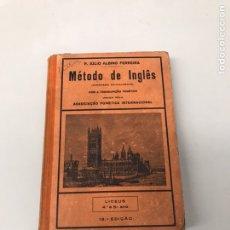 Libros de segunda mano: MÉTODO DE INGLÉS. Lote 207627765