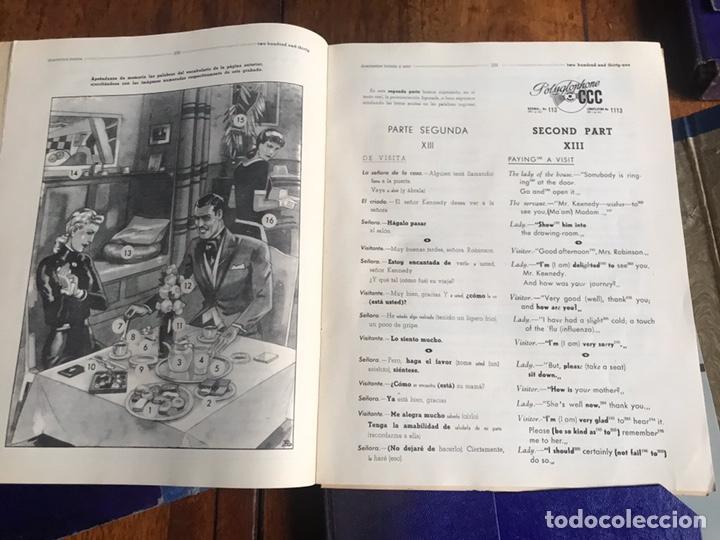 Libros de segunda mano: Curso inglés 1958 CCC poliglophone tres modulos - Foto 5 - 207875033
